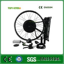 TOP / OEM Professioneller Anbieter 48v 1000 watt Elektro-Bike-Umbausatz Mit Lithium-Batterie