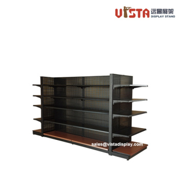 5 Tier Gondola Shelf Steel Supermarket Display Rack