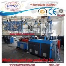 PP PE PVC electric conduit flexible pipe making machinery