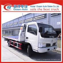 Dongfeng 4ton one remorquage à deux camions remorques