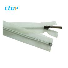 Hot sale invisible transparent zipper custom high quality nylon zipper for bag
