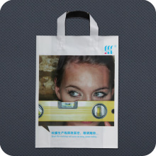 Bolsa transportadora de plástico colorido impressa personalizada