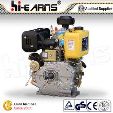 Dieselmotor mit Keilnutwelle Gelbe Farbe (HR192FB)