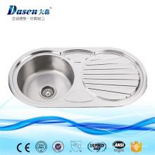 Produits populaires en Malaisie Lavabo à main en acier inoxydable pour lavabo en acier inoxydable