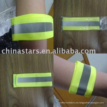 Calentamiento de alta seguridad Reflectante brazo de seguridad vinculante