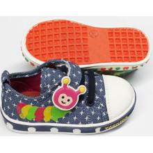 Chaussures bébé à chaussure bon marché Chaussures bébé avec semelle douce (SNB-18-0005)