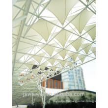 ptfe permanent Architecture membrane for railway station canopy