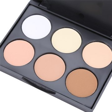Private Label OEM mehrfarbige Bronzer Rouge-Palette