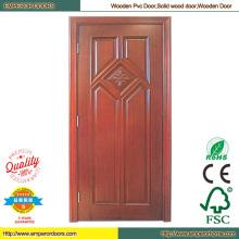 Дорогие деревянные двери пользовательские дерево дверные круглые деревянные двери