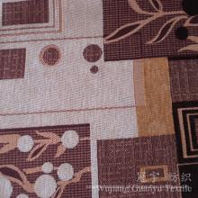 Jacquard-Chenille-Garn gefärbtes Polyester-Gewebe für Sofa