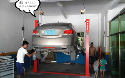5D Wheel ALignment Tool