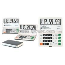 Calculatrice pliable multifonctionnelle à 8 chiffres JS-2018 avec calculatrice de poche miniature bibi