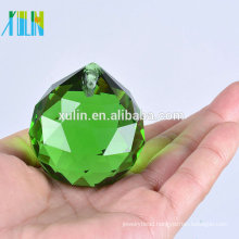 20mm Chandeliers Green Crystal Ball Lighting Parts Prisms Feng Shui Ball