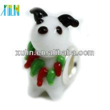 grânulos de animais de vidro de murano para decoração de pulseiras