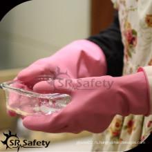 SRSAFETY резиновые латексные домашние рабочие перчатки для мытья посуды