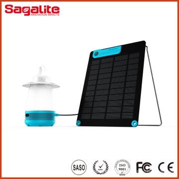 2016 China Nuevo diseño Rchargeble portátil LED de luz solar