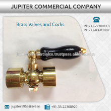 100% Tested Quality Brass Valves and Cocks from India