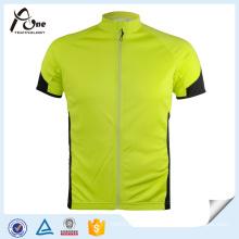 OEM Men′s Sport Short Sleeves Jersey Coolmax Cycling Jersey