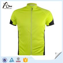 OEM Herren Sport Short Sleeves Jersey Coolmax Radtrikot