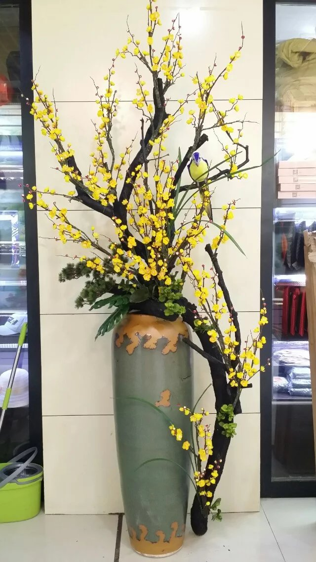 Artificial flower plum blossom