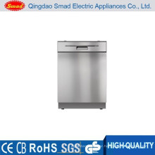 WQP12-9350L home Stainless steel Semi-integrated dishwasher