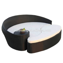 wholesale cheep wicker lounge chaise