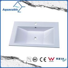 Buracos de banheiro de mármore artificial de boa qualidade Acb0804