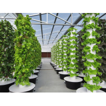 Hydroponic Garden Vertical Plastic Strawberry Plant Tower