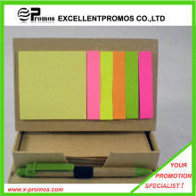 Promotional Recycled Sticky Notepad with Pen (EP-M5261)