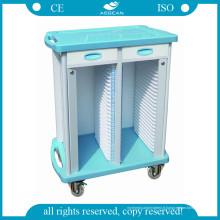 AG-Cht003 Trolley utile de dossiers médicaux