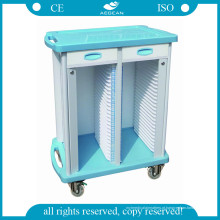AG-Cht003 Used Good Quality Hospital Record Trolley