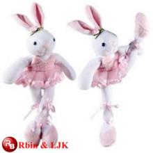 Conozca EN71 y ASTM estándar ICTI peluche fábrica de juguetes de peluche de conejo al por mayor