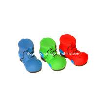 Colorful Vinyl Shoes Pet Toy