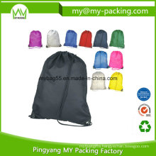 Foldable Rope Eyelets Drawstring Bag for Shop