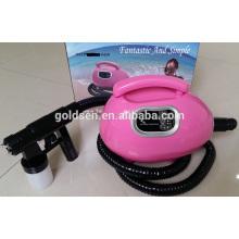 Handheld Indoor Pequena Tanning Bed Portable Pulverização Tanning Machine System Profissional Airbrush Mini HVLP Pulverizador Tan Gun