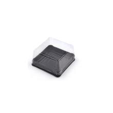 Diposable Günstige kleine quadratische Kunststoff-Kuchenbox