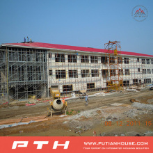 Prefab Industrial Steel Structure Warehouse From Pth