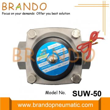 2 '' Katup Air Solenoid Stainless Steel SUW-50 2S500-50