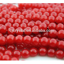 Gläser Perlenkette, Großhandel billige Glasperle, Perlenschmuck