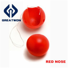 Красный клоунский нос