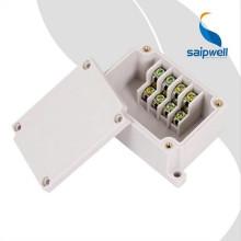 Boîte de jonction pour coffret électrique en plastique ABS avec bornier 4p