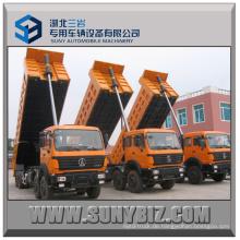 65t 380HP Beiben 8X4 Heavy Dump Truck