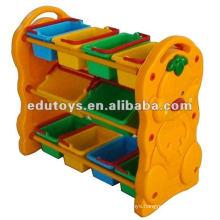 Plastic Kids Toy Shelf