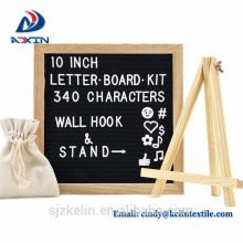 Felt letter board wooden advertising letter board 12x18 oak frame 2018 hot sale Felt letter board wooden advertising letter board 12x18 oak frame 2018 hot sale Felt letter board