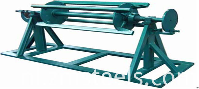 Metal Glazed Steel Roll Forming Machine
