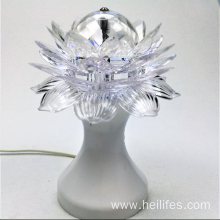 Crystal Lotus LED light gifts