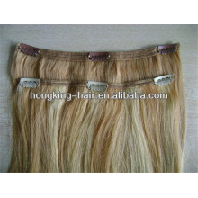 human hair clip in extensions,remy brazilian hair extension,hair extensions for short hair
