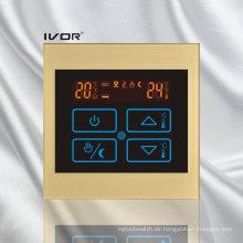 Fußbodenheizung Thermostat Touch Schalter Acryl Rahmen (SK-HV100B-M / L)