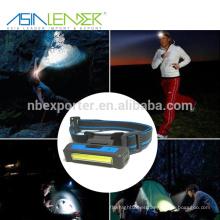 BT-4901 7 Luz de nivel 3W COB USB recargable faro
