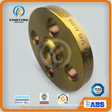 ASME B16.5 Carbon Steel Socket Weld Sw Flange Forged Flange with TUV (KT0400)